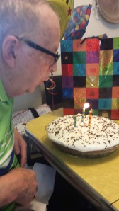 George's 83rd Birthday 2014
